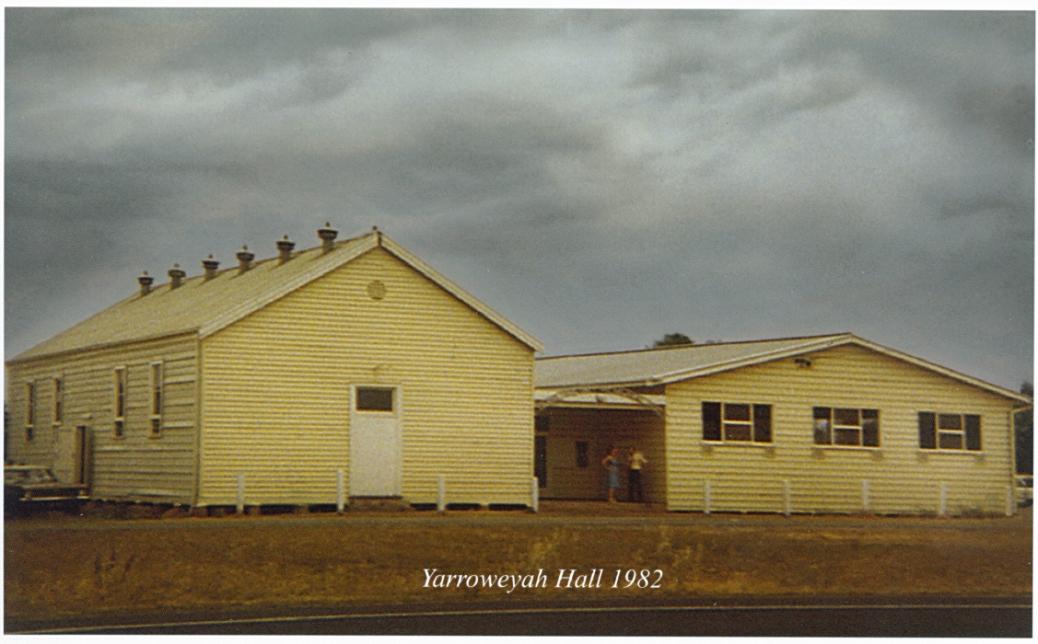 Yarroweyah Hall 1982