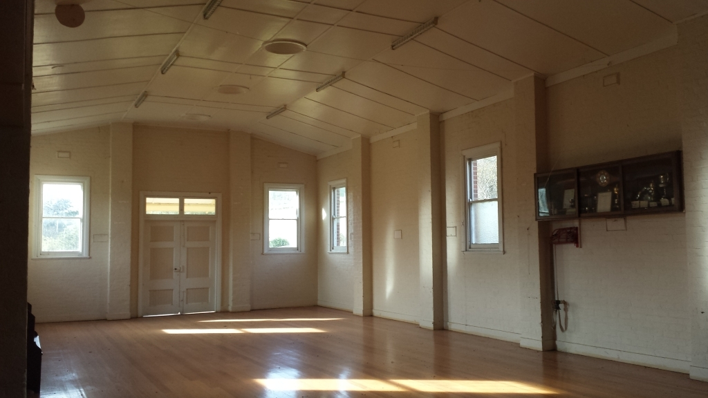 Ensay Community Hall- inside
