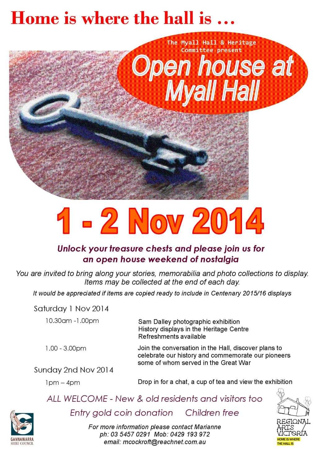 A4 Flyer 2014 Myall