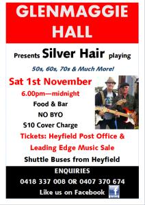 Silver Hair Poster