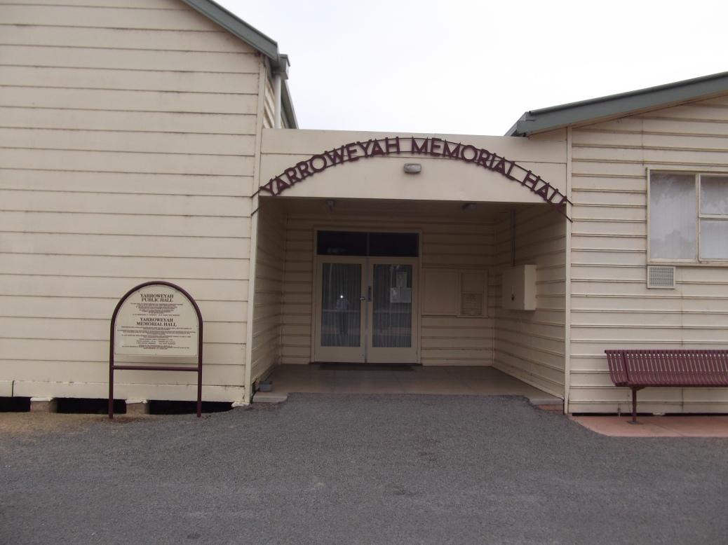 Yarroweyah Hall 305