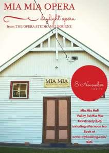 The Mia Mia Daylight Opera submitted to HiWtHi by Lisa Dooley