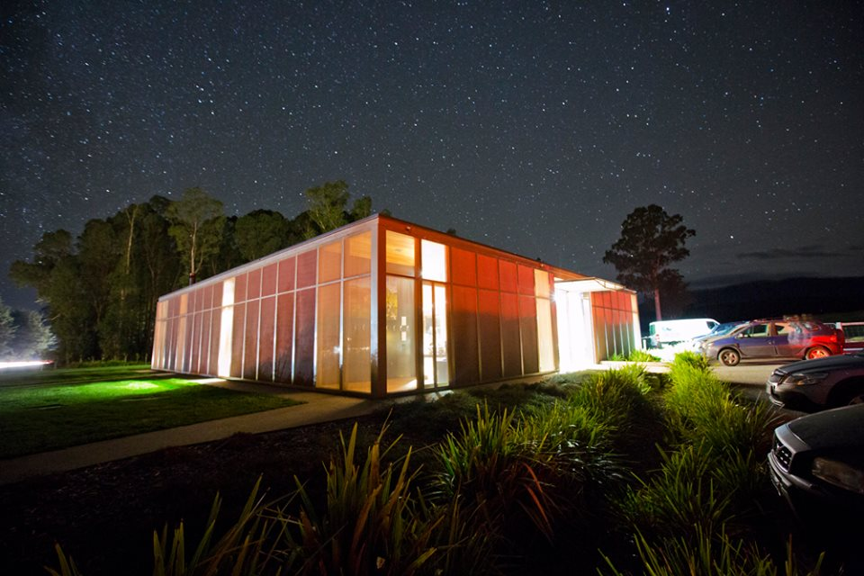 151015_Narbethong Hall at night (Photo courtesy of B. Differding)