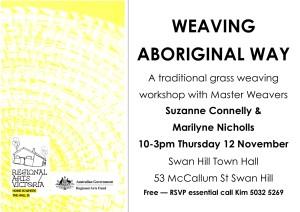 151028_Weaving Workshop flyer submitted by Kim Bennett