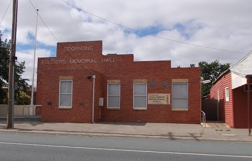 151119_Goornong Soldiers Memorial Hall submitted by Pam Rodgers